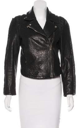 Faith Connexion Leather Moto Jacket