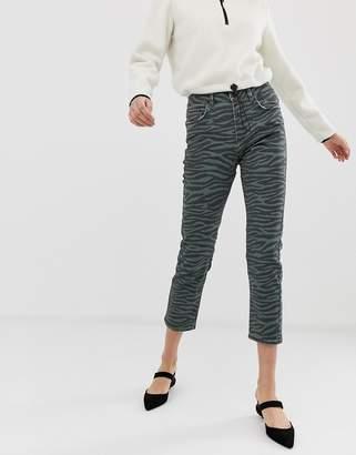 23082ff6aef7bc Iden Denim Radclyffe skinny jean in zebra print