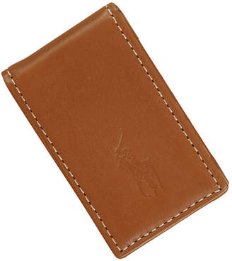 Polo Ralph Lauren Men's Accessories, Burnished Leather Money Clip