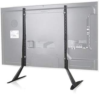"""WALI Universal TV Stand Table Top for Most 22""""-65"""" LCD Flat Screen TV"""