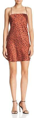 Bec & Bridge Wild Cat Silk Mini Dress