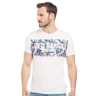 246a1c8a Ted Baker Mens Koolio Graphic Print Short Sleeve T-Shirt White