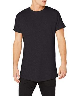 Off-White Urban Classic Men's Long Shaped Turnup Tee T-Shirt