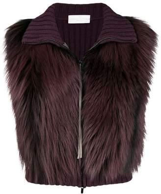 Fabiana Filippi ribbed fur vest
