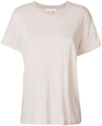IRO distressed oversized T-shirt