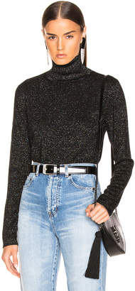 Saint Laurent Lurex Turtleneck Sweater