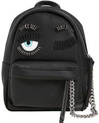 Piercing Flirting Eyes Mini Backpack $548 thestylecure.com