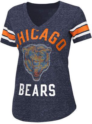 G-iii Sports Women's Chicago Bears Big Game Rhinestone T-Shirt