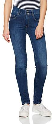 Big Star Women's Elisa Push up Hoher Bund Skinny Jeans,30W x 30L