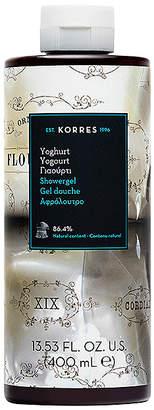 Korres Yoghurt Shower Gel.