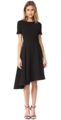 Black Halo Olcay Asymmetrical Dress $375 thestylecure.com