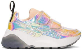 Stella McCartney Pink Metallic Eclypse Sneakers