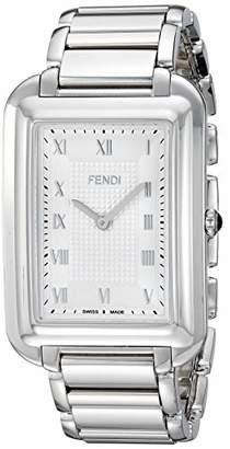 Fendi Men's 'Classico Rect' Swiss Quartz Stainless Steel Dress Watch