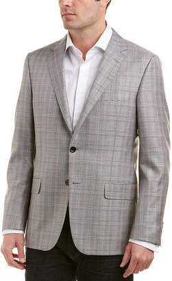 Hickey Freeman Milburn Ii Wool & Silk-Blend Sportcoat