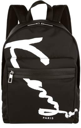 Kenzo Logo Print Backpack