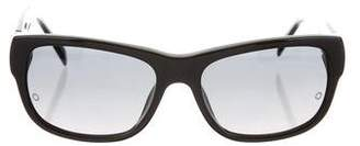 Montblanc Square Gradient Sunglasses