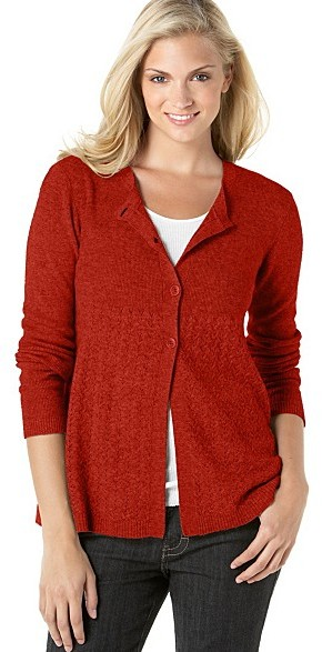 Calvin Klein Jeans Contrast-Stitched Cardigan
