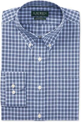 Polo Ralph Lauren Men's Classic Fit Plaid Cotton Dress Shirt