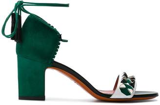 Santoni embellished sandals