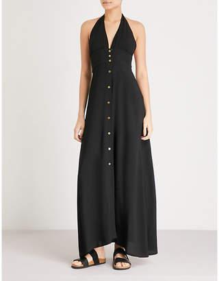 Heidi Klein Oman woven maxi dress
