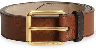 Burberry two-tone belt