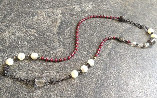 Rubie's Costume Co Rona Pfeiffer Long Necklace Comprised Of