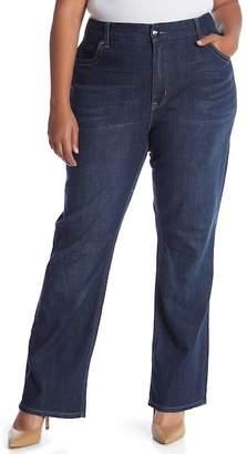 Melissa McCarthy Slim Bootcut Jeans (Plus Size)