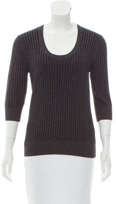 Rebecca Taylor Scoop-Neck Sweater w/ Tags