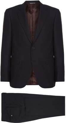 Canali Mini Birdseye Impeccable Wool Two-Piece Suit