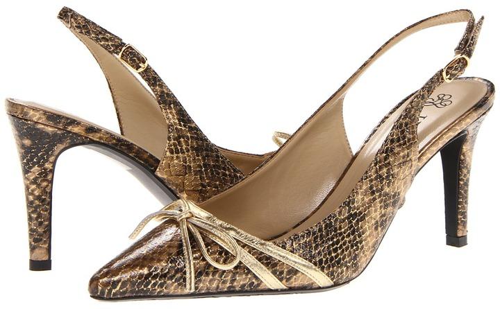 J. Renee Delray (Black/Brown/Gold) - Footwear