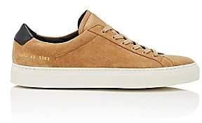 Common Projects Men's Achilles Retro Suede Sneakers-Beige, Tan