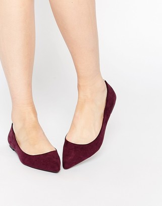 Oasis Pointed Flat Shoes $38 thestylecure.com