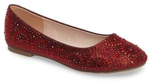 Ralph Lauren Lorraine Brooke Crystal Embellished Ballet Flat