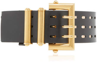Versace Wide Square Buckle Belt