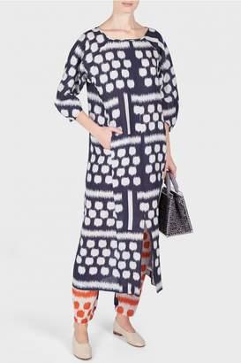 Zero Maria Cornejo Beetle Kibibi Print Dress
