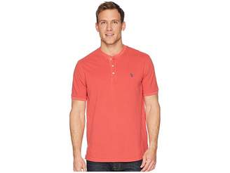 Polo Ralph Lauren Featherweight Mesh Short Sleeve Knit Henley Men's Clothing