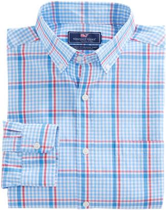 Vineyard Vines Palmer Island Plaid Classic Murray Shirt