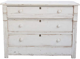 One Kings Lane Vintage White Dresser