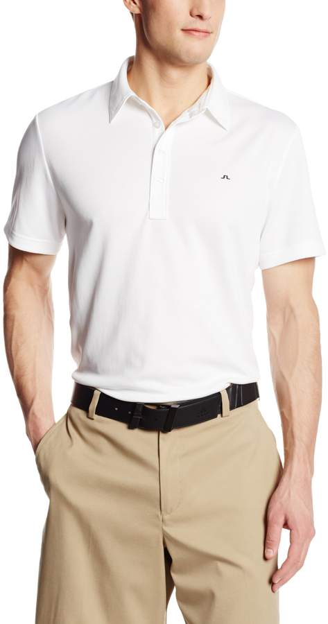 J. Lindeberg Men's Lachlan Cool Wave Golf Polo