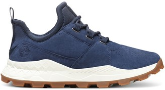 Brooklyn Suede Leather Trainers