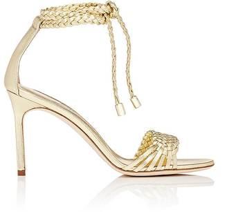 Manolo Blahnik Women's Amusba Sandals $845 thestylecure.com