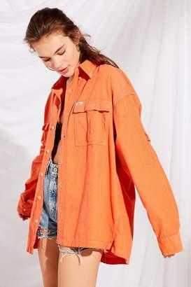 Urban Renewal Vintage Remade Color Pop Corduroy Button-Down Shirt