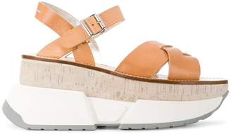 Maison Margiela colour-block open-toe sandals