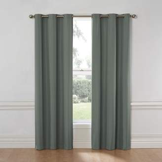 Eclipse Nikki Grommet Blackout Curtain Panel,-Inch, Riverblue