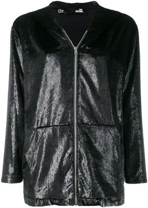 Love Moschino zip front hoodie