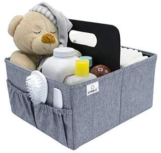 Sorbus Foldable Nursery Caddy Toy Box