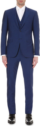 Canali Three-piece wool and mohair-blend suit $1,195 thestylecure.com