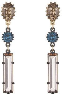 Lulu Frost Métro Linear Drop Earrings $215 thestylecure.com