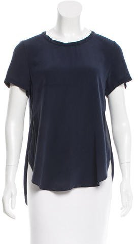 3.1 Phillip Lim 3.1 Phillip Lim Silk Short Sleeve Top