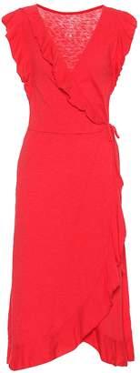 Velvet Sedona cotton slub wrap dress